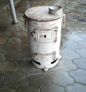 Буржуйка чугунная 70 кг