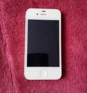 Продам iPhone 4 white 8Gb