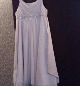 Платье для девочки (монсон)10-12 лет.