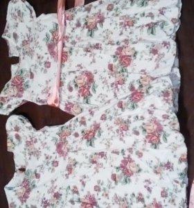 Платье детское в детский сад