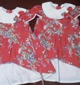 Платье детское в садик