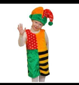 Скоморох новый карнавальный костюм