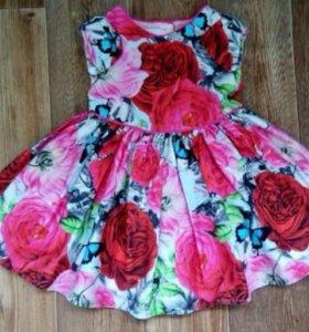 Шикарное платье на годик!