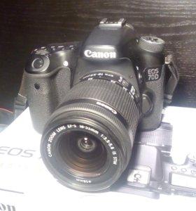 Canon 70D kit 18-55 stm