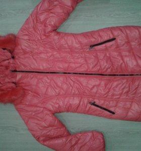 Зимняя куртка. Новая.  Очень теплая