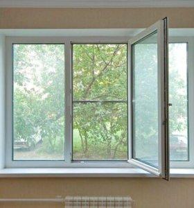 Окна ПВХ ,деревянные