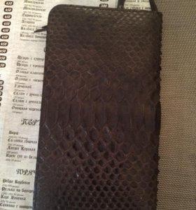 Мужской клатч из натуральной кожи