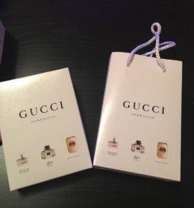 Новый подарочный набор Gucci (духи)