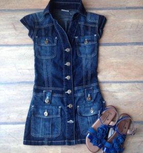 Платье джинсовое CrashOne
