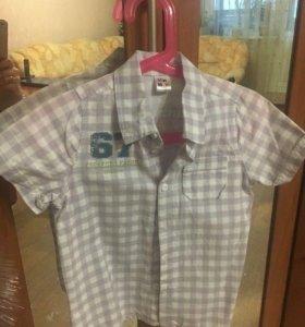 Рубашка рост 110 для мальчик