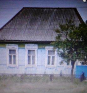 Дом 75.5 м.кв. на участке 20 сот.