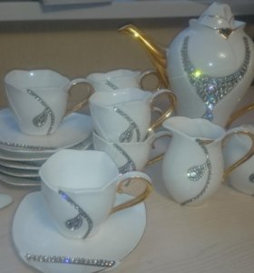 Сервиз чайный (фарфор)