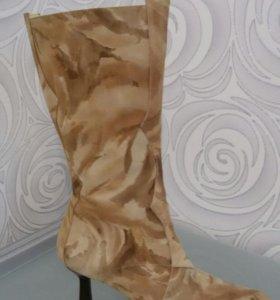 Сапоги зимние, натуральный мех, размер 39