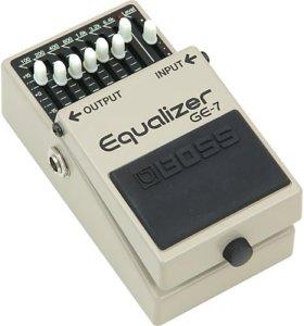 Педаль Boss GE-7 Equalizer (Эквалайзер)