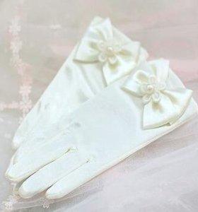 Детские перчатки декоративные