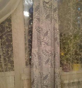 Платье Mango в пол размер 48-50