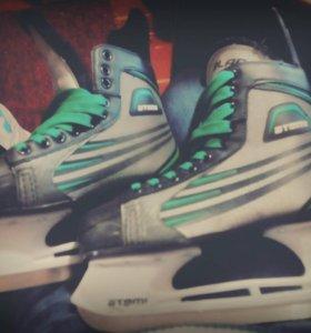 Коньки хоккейные Atemi Blade