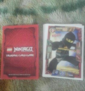 LEGO карточки ниндзяго