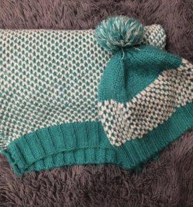 Набор шапка +шарф promod