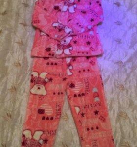 Новая детская пижама зима