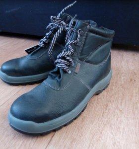 Новые ботинки-спец.обувь с металлическим носом