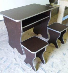 Стол и 2 стула (НОВАЯ)