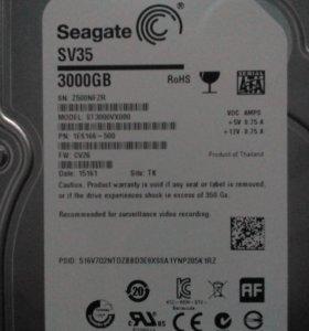Жёсткий диск 3 тб.