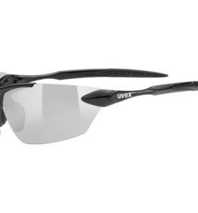 Uvex спортивные очки черные Фирменные Новые. 3