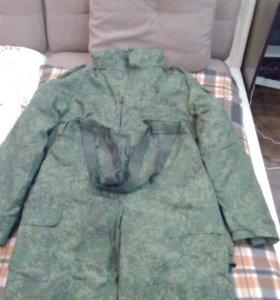 Новая зимняя камуфлированная военная форма
