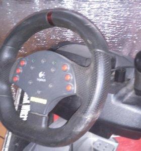 Руль и педали для пк