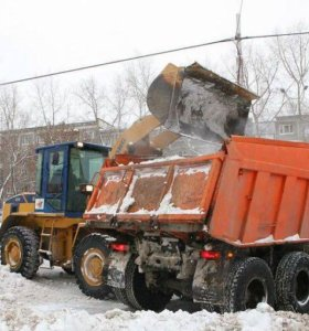 Вывоз снега 24 часа