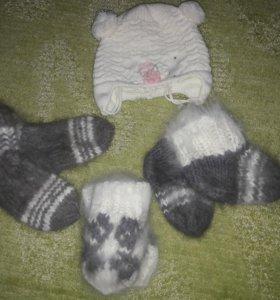 Носки варежки шапка