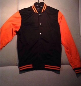 Бомбер куртка толстовка S M