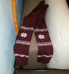 Теплые носки новые