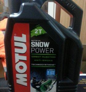 Масло Motul 2T snow power