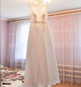 Свадебное платье А-силует