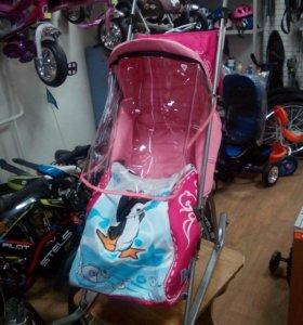 Санки коляска новые