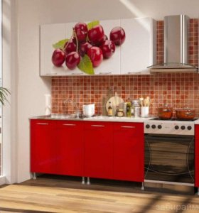 Кухонный гарнитур Вишня 2,0 м новый в упаковке