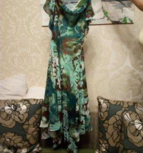 Новое платье шифоновое