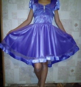 Платье принцессы 10-11 лет