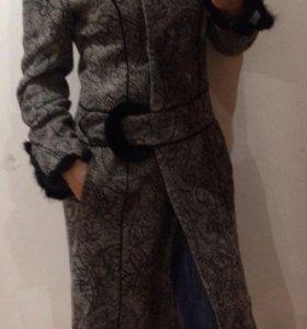 Пальто осень-зима шерсть 70%