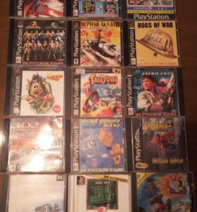 Продаю диски на playstation 1!!! Оригинальные!
