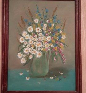 Картина маслом размер 34×42