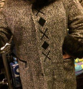 Зимнее пальто на 52 р