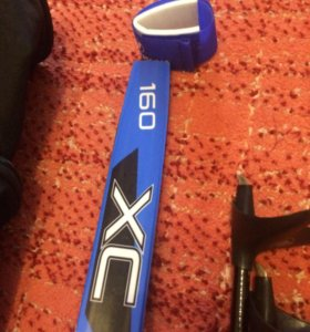Комплект лыж и ботинок Б/у 2 раза