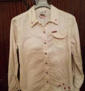 Рубашка Блузка на девочку 152 рост
