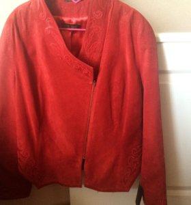 Куртка замша новая