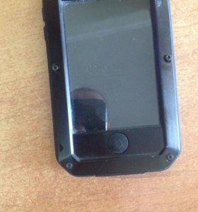 Противоударный чехол на айфон 4 ,4s