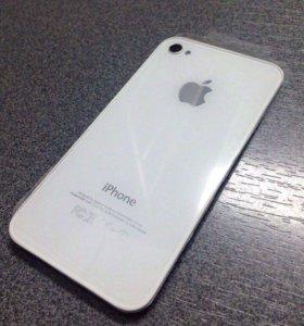 Задняя крышка, стекло для iPhone 4S
