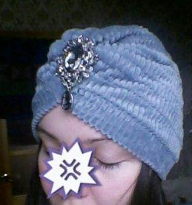 Модная шапка чалма тюрбан